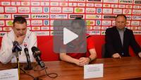 Sandecja - Kolejarz Stróże, 1-0, pomeczowa konferencja