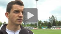 Sandecja - Termalica Bruk-Bet Nieciecza 2-1 (2-0), Adrian Frańczak