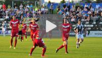 Sandecja - GKS Tychy 0-1 (0-1), skrót meczu