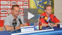 Arka Gdynia - Sandecja 1-1 (0-1), konferencja prasowa