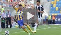 Arka Gdynia - Sandecja 1-1 (0-1), skrót meczu