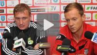 Sandecja - GKS Bełchatów 0-1, Puchar Polski, konferencja prasowa