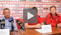 Sandecja - Widzew Łódź 2-0 (1-0), konferencja prasowa