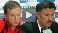Miedź Legnica - Sandecja 1-1, (1-0), konferencja prasowa