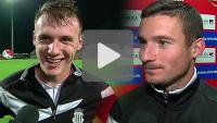 Miedź Legnica - Sandecja 1-1, Sebastian Szczepański, Matej Nather