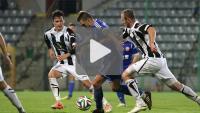 Miedź Legnica - Sandecja 1-1, (1-0), skrót meczu