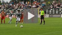 Sandecja - Chojniczanka 1-1 (1-0), skrót meczu