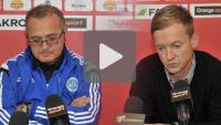 Sandecja - Wigry Suwałki 2-0 (0-0), konferencja prasowa