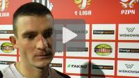 Sandecja - Pogoń Siedlce 0-1 (0-0), Matej Nather
