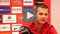 Zagłębie Lubin - Sandecja 1-0, (1-0), pomeczowa konferencja