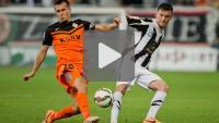 Zagłębie Lubin - Sandecja 1-0, (1-0), skrót meczu