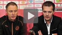 Sandecja - Chrobry Głogów, 2-1 (0-1), konferencja prasowa
