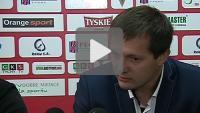 GKS Tychy - Sandecja 2-7 (0-1), pomeczowa konferencja