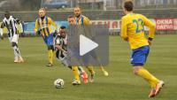 Sandecja - Arka Gdynia 3-1, (1-0), skrót meczu