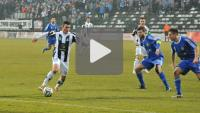 Sandecja - Miedź Legnica 0-4 (0-2), skrót meczu