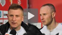 Sandecja - Flota Świnoujście 1-0, wypowiedzi zawodników