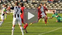 Sandecja - Bytovia Bytów 0-1 (0-1), skrót meczu