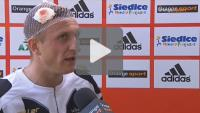 Pogoń Siedlce - Sandecja 1-2 (1-1), Maciej Bębenek