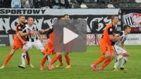 Sandecja - Zagłębie Lubin 0-1 (0-1), skrót meczu