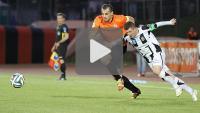 Chrobry Głogów - Sandecja 2-0 (0-0), skrót meczu