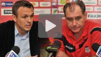 Sandecja - Olimpia Grudziądz 1-1 (1-0) pomeczowa konferencja