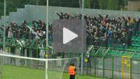 GKS Katowice - Sandecja 3-0 (0-0), doping kibiców