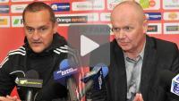 Sandecja - Dolcan Ząbki 1-1 (1-1), pomeczowa konferencja