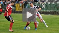 Sandecja - Dolcan Ząbki 1-1 (1-1), skrót meczu