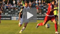 Sandecja - Drutex Bytovia 0-1 (0-1), skrót meczu