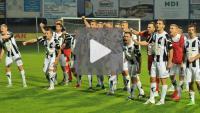 Sandecja - Dolcan Ząbki 3-2 (1-1), skrót meczu