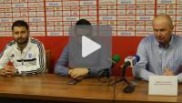 Sandecja - Wisła Płock 1-3 (1-0), konferencja prasowa