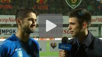 GKS Katowice - Sandecja 2-4, (1-1), Arkadiusz Aleksander