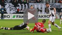 Sandecja - Zagłębie Sosnowiec 3-3 (1-1), skrót meczu
