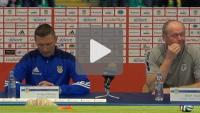 Arka Gdynia - Sandecja 2-1 (0-1), pomeczowa konferencja prasowa