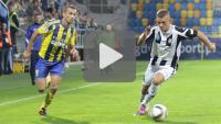 Arka Gdynia - Sandecja 2-1 (0-1), skrót meczu