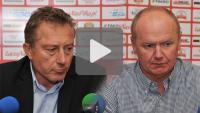Sandecja - Miedź Legnica 3-2 (1-1), pomeczowa konferencja
