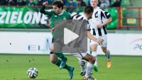 GKS Bełchatów - Sandecja 1-0 (0-0), skrót meczu