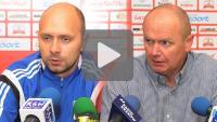 Sandecja - Olimpia Grudziądz 0-0, pomeczowa konferencja