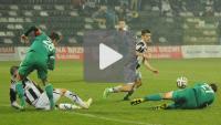 Sandecja - Olimpia Grudziądz 0-0, skrót meczu