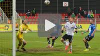Bytovia Bytów - Sandecja 1-0 (1-0), skrót meczu