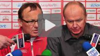Sandecja - Stomil Olsztyn 0-2 (0-1), pomeczowa konferencja