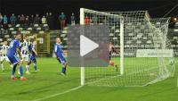 Sandecja - Miedź Legnica 3-2 (1-1), skrót meczu