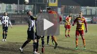 Chojniczanka Chojnice - Sandecja 0-1 (0-0), skrót meczu