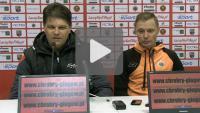 Chrobry Głogów - Sandecja 1-1 (0-0), pomeczowa konferencja