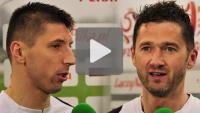 Sandecja - GKS Katowice 4-0 (0-0), pomeczowe wywiady