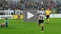 Sandecja - GKS Katowice 4-0 (0-0), skrót meczu