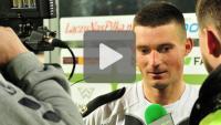Sandecja - Pogoń Siedlce 3-0 (2-0), Matej Nather