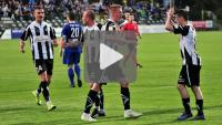 Sandecja - Pogoń Siedlce 3-0 (2-0), skrót meczu