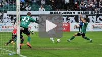 Sandecja - GKS Bełchatów 2-0 (0-0), skrót meczu