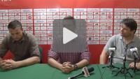 Olimpia Grudziądz - Sandecja 3-2 (0-2), pomeczowa konferencja